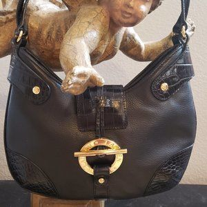 Ralph Lauren Black Hobo Purse.